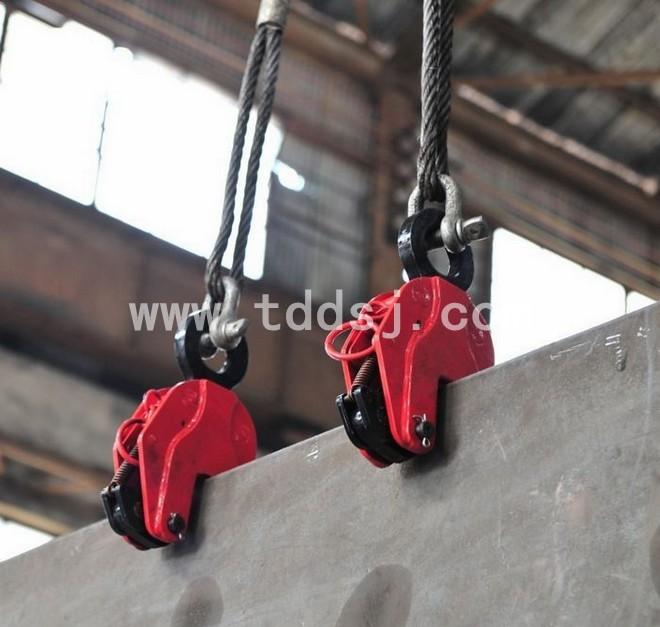竖吊钢板起重钳